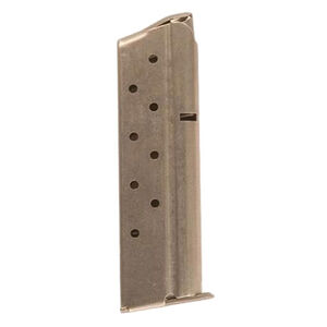 Colt 1911 Delta Elite 8 Round Magazine 10mm Auto Stainless Steel Natural Finish