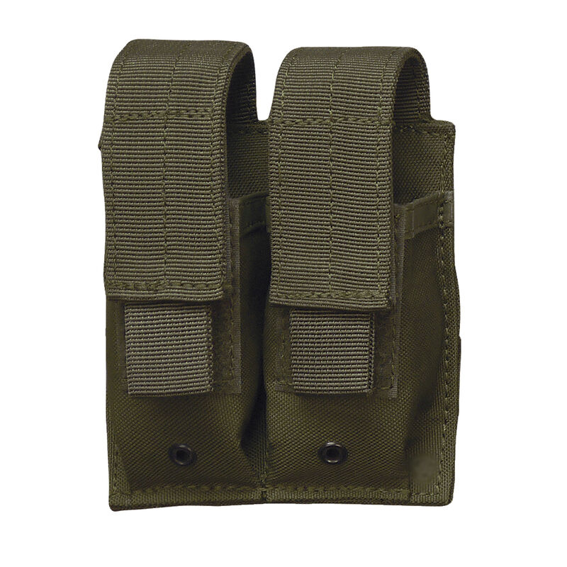 5ive Star Gear MPD-5S Double Pistol Mag Pouch MOLLE Compatible Olive Drab