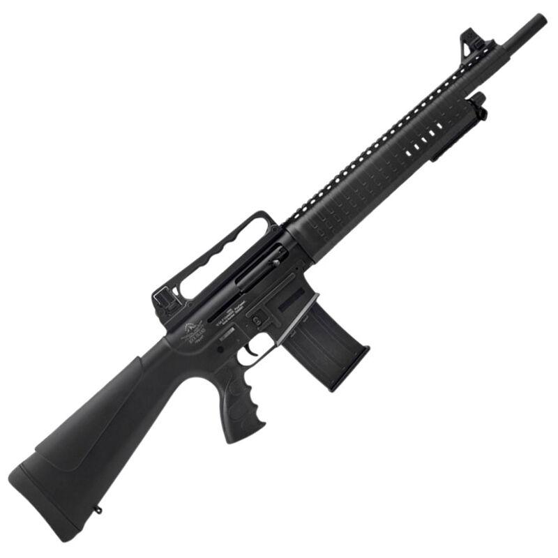 "Rock Island Armory VR60 AR Style Semi-Auto Shotgun 12 Gauge 3"" Chamber 20"" Barrel 5 Rounds Gas Operated Aluminum Upper Receiver Polymer Furniture Black"