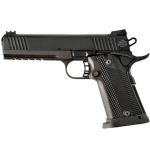 "Rock Island Armory TCM TAC Ultra FS HC Combo Semi Auto Handgun .22 TCM / 9mm Luger 5"" Barrel 17 Rounds Parkerized Steel Frame G10 Grips Black"