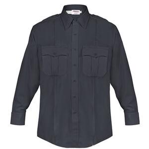 Elbeco DutyMaxx Men's Shirt Long Sleeve Polyester Rayon 18x34 Midnight Navy