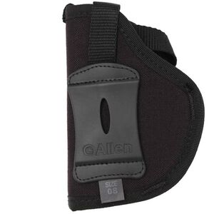 Allen Cortez Thumbsnap Holster Size 8 Medium and Large Frame Autos Nylon Right Hand Black 44808