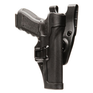 BLACKHAWK! SERPA Level 2 Tactical Holster SIG P220/226/228/229 Right Hand Polymer Black 44H006BK-R