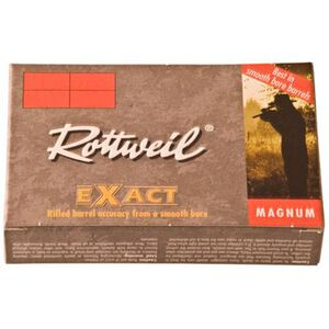 "RWS Rottweil Exact 12 Gauge Ammunition 5 Rounds 2-3/4"" 1-1/8oz Spiral Slug"