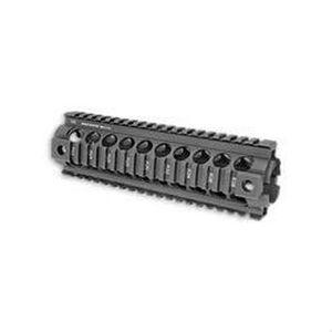 Midwest Industries AR-10 Gen II Carbine Length Drop In Railed Handguard Aluminum Black MI-AR10-CHG2