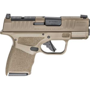 "Springfield Armory HELLCAT OSP 9mm Semi-Auto Pistol 3"" Barrel Optics-Ready 13 Rounds Desert FDE"