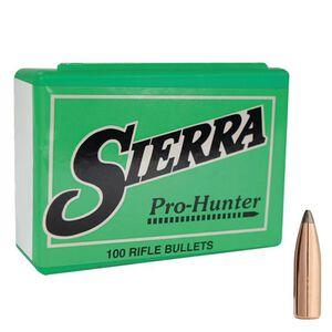 "Sierra 8mm Caliber .323"" Diameter 150 Grain Pro-Hunter Soft Point Rifle Bullets 100 Count 2400"