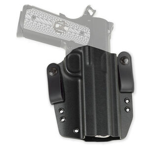 Galco Corvus Belt/IWB Holster GLOCK 43 Right Hand Kydex Black