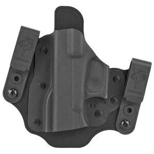 DeSantis Intruder 2.0 IWB/OWB Belt Holster Fits SIG Sauer P365 Left Hand Kydex Black
