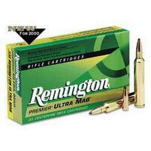 Remington .375 RUM Ammunition 20 Rounds A-Frame PSP 300 Grains