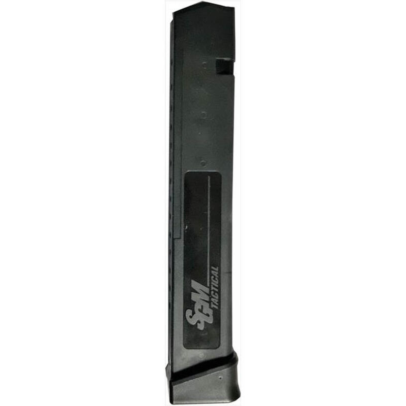 SGM Tactical GLOCK 17/19/26/34 Magazine 9mm Luger 33 Rounds Polymer Black SGMT9G33R