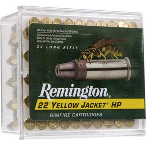 Remington 22 Yellow Jacket .22 LR Ammunition 100 Rounds 33 Grain Plated TC HP Bullet 1500fps