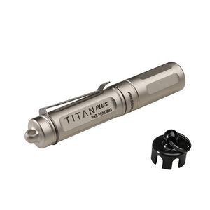 SureFire Titan Plus Ultra-Compact LED Light, AAA, 3 Stage 15/75/300 Lumens