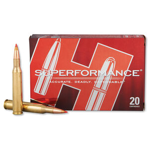 Hornady Superformance .270 Winchester Ammunition 20 Rounds Lead Free GMX 130 Grains 8052