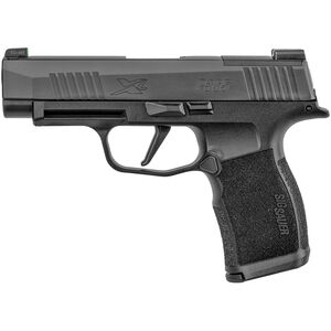 "SIG Sauer P365 XL 9mm Luger Semi Auto Pistol 3.7"" Barrel 12 Rounds Night Sites Polymer Grip Frame Black Finish"