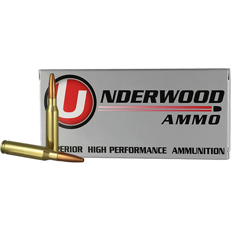 Underwood Ammo 7mm-08 Rem 20 Round Box 142 Grain Controlled Chaos Lead Free 2900 fps