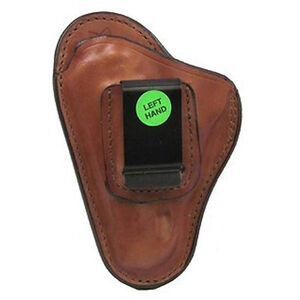 Bianchi #100 Small Revolvers Professional Inside Waistband Holster Left Hand Size 1 Leather Plain Tan 19221