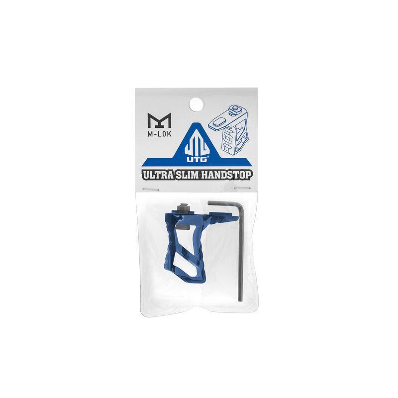 UTG M-LOK Ultra Slim Handstop, Matte Blue