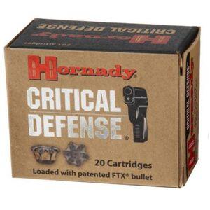 Hornady Critical Defense .32 H&R Magnum Ammunition 25 Rounds FTX 80 Grains 90060