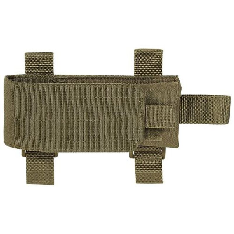 Voodoo Tactical Buttstock Magazine Pouch Holds One AR-15 Type 30 Round Magazine Fits Most Stocks Nylon Coyote 929007000