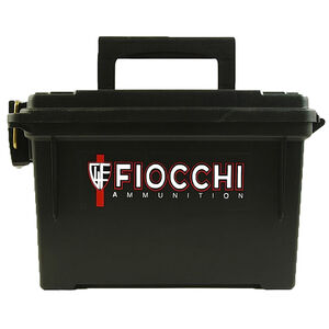 Fiocchi Shooting Dynamics .22 Long Rifle Ammunition 1575 Rounds 40 Grain Plated Lead Round Nose 1263fps Plano Hard Case Matte Black