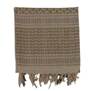 "Voodoo Tactical Woven Coalition Desert Scarves Cotton 42""x42"" Sand/Tan"