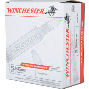 Winchester 5.56 NATO Ammunition 180 Rounds Open Tip 62 Grains USA3162W