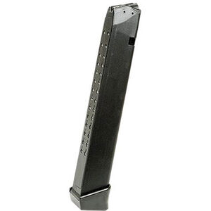SGM Tactical Magazine for GLOCK 17/19/26/34 9mm Luger 33 Rounds Polymer Black