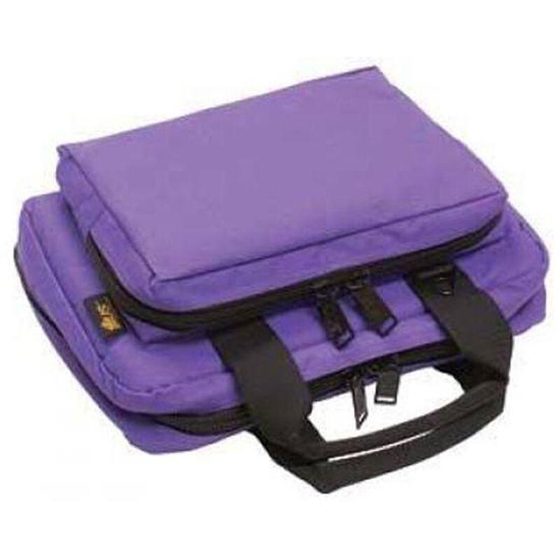 """US Peacekeeper Padded Mini Range Bag 12.75""""x8.75""""x3"""" Nylon Purple 11046"""