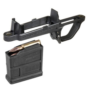 Magpul Bolt Action Magazine Well Kit For Magpul Hunter Remington 700 Stocks Short Action 5 Round Detachable Box Magazine Matte Black