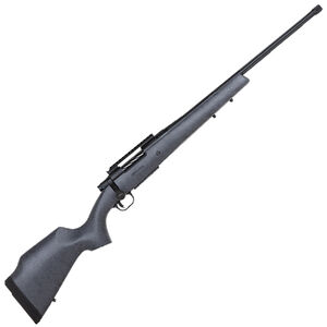 """Mossberg Patriot LR Hunter 6.5 PRC Bolt Action Rifle 24"""" Barrel 4 Rounds Polymer Coated Monte Carlo Hunting Stock Spider Gray/Matte Blue"""