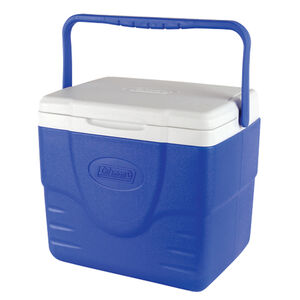 Coleman 9 Quart Excursion Personal Cooler With Carry Handle Blue/White