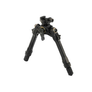 "UTG TBNR Bipod 7""-9"" Center Height Picatinny Mounted Spiral Guided Black TLUB02-A"