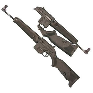 "Kel-Tec SU-16 Sport Utility Semi Auto Carbine Lightweight .223 Rem/5.56 NATO 16"" Barrel 10 Rounds Synthetic Stock Black Finish Adjustable Sights"