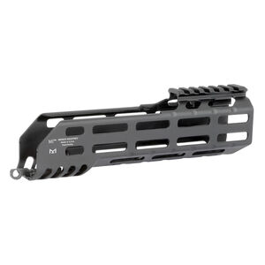 "Midwest Industries SIG Sauer MCX Virtus 8.25"" One Piece Drop In M-LOK Compatible Hand Guard 6061 Aluminum Hard Coat Anodized Finish Matte Black"