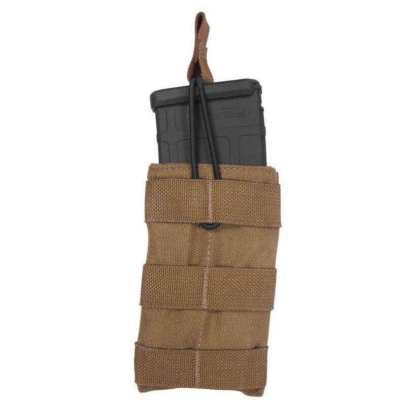 Tac Shield Single Speed Load AR-15 Rifle Magazine Pouch Belt Mounted Coyote