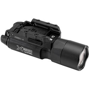 SureFire X300 Ultra Handgun Light LED 1000 Lumens 2x CR123A Batteries Ambidextrous Switch Aluminum Body Black