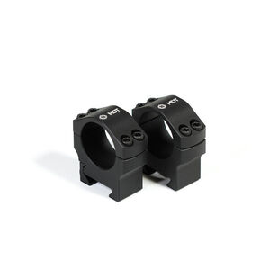 MDT Premier Scope Rings 1 Inch High 1.25in Aluminum Black