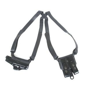 Galco Miami Classic Shoulder Holster System Large-Frame Autos Right Hand Leather Black MC248B