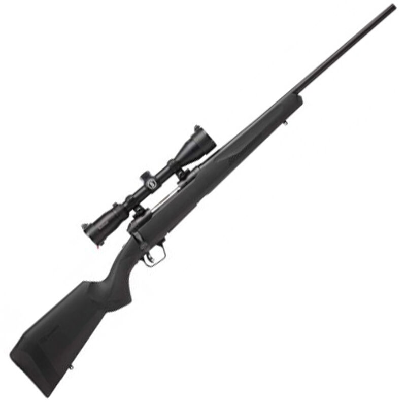 """Savage 110 Engage Hunter XP Package .450 Bushmaster Bolt Action Rifle 22"""" Barrel 3 Rounds with 3-9x40 Scope Matte Black Finish"""