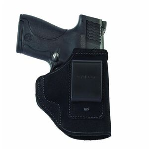Galco Stow-N-Go Inside the Pant Holster GLOCK 43 IWB Right Hand Leather Black Finish STO800B