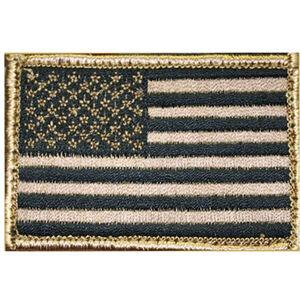 BLACKHAWK! Subdued American Flag Patch Standard OD Green/Black 90SAFV