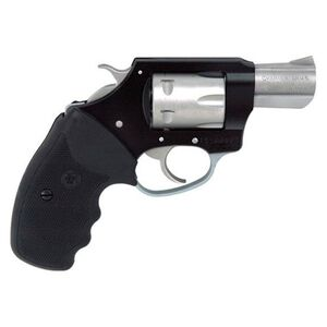 """Charter Arms Pathfinder Lite Revolver .22 WMR 2"""" Barrel 6 Rounds Synthetic Grips Black/Stainless Steel 52370"""