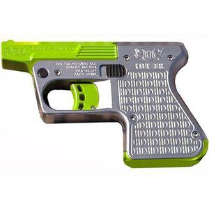 """Heizer Defense Hedy Jane PS1 Derringer .45 LC/.410 Gauge 3.25"""" Barrel Green Finish 1 Round Stainless Steel Frame Finish PS1SSGR"""