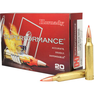 Hornady 7mm Remington Magnum Ammunition 20 Rounds SST 154 Grains