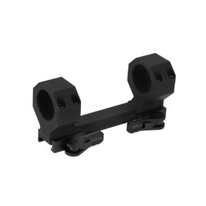 American Defense Delta 30mm Dual Ring Scope Mount Black AD-DELTA-30-STD-TL