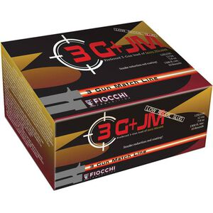 "Fiocchi 12 Gauge Ammunition 10 Rounds Low-Recoil Lead Slug 2.75"" 0.875 oz."