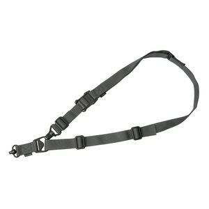 Magpul MS3 Single QD Sling Gen2 Single or Two Point Paraclip/QD Swivels Included Nylon Stealth Gray