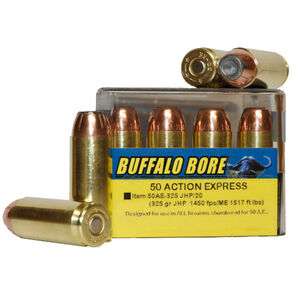 Buffalo Bore .50 AE Ammunition 20 Rounds JHP 325 Grains