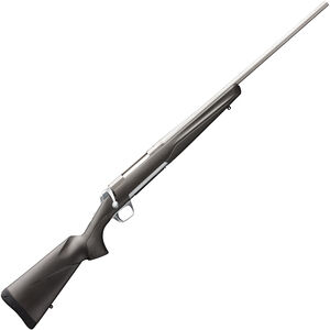 "Browning X-Bolt Stainless Stalker .300 WSM Bolt Action Rifle 23"" Barrel 3 Rounds Matte Gray/Black Composite Stock Matte Stainless Finish"